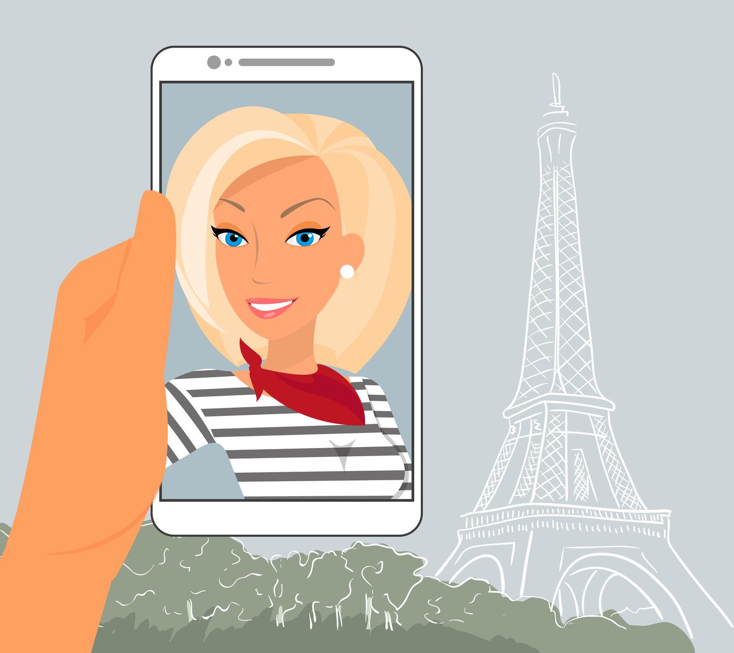 Fotolia_69588862_Blond-Woman-Taking-Selfie-in-Paris_M
