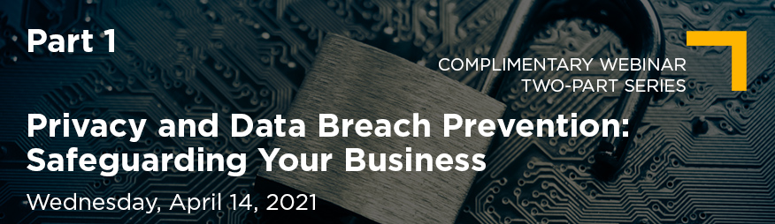 Apr 14 Privacy and Data Breach Prevention Part 1 Website 876x254