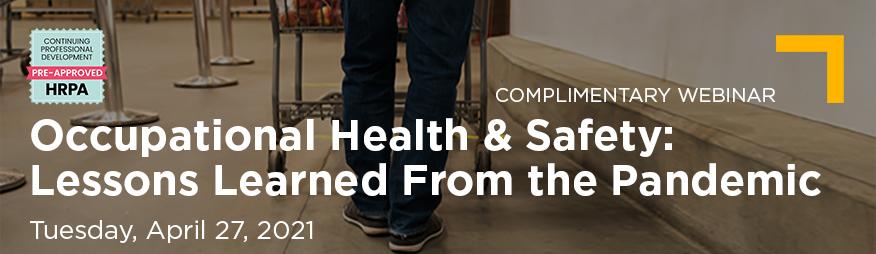 Apr 27 Occupational Health & Safety Website 876x254