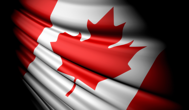 canada flag shutterstock_35662351