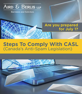 Casl Steps to comply -handout cover page