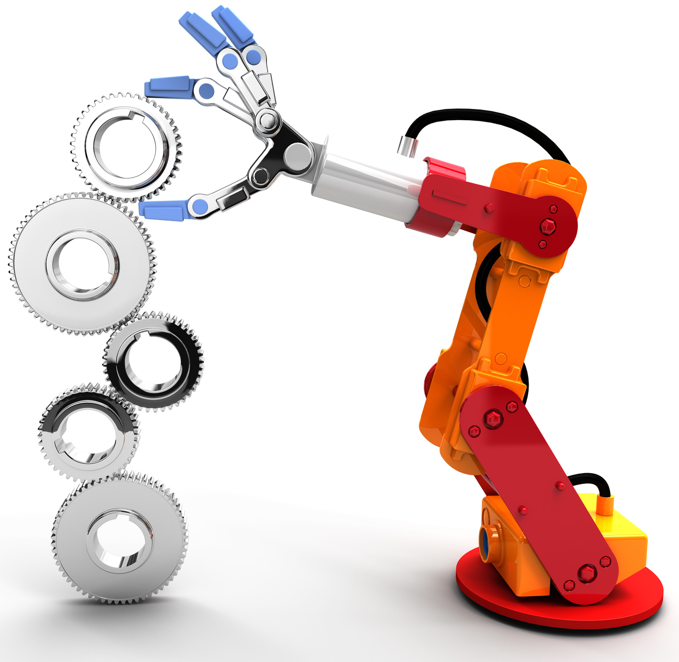 Fotolia_67137547_Robot Arm
