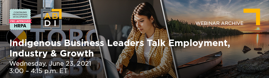 Jun 23 Indigenous Business Leaders Talk Employment, Industry & Growth Invitation Banner Archive