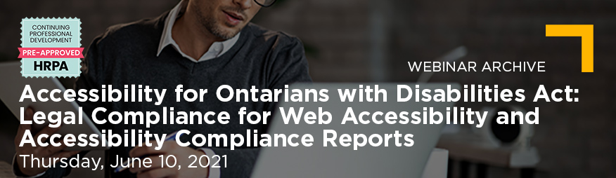 June 10 AODA and Web Accessibility Website 876x254 Archive