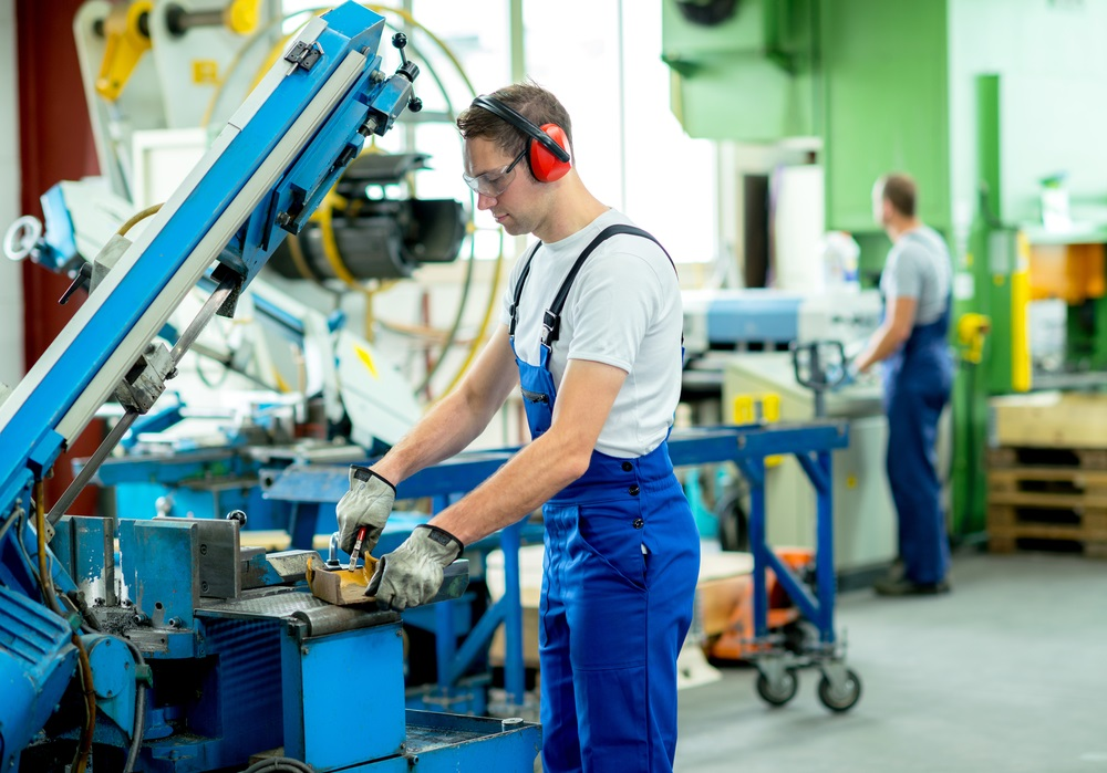 machine worker