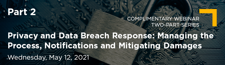May 12 Privacy and Data Breach Response Part 2 Website 876x254