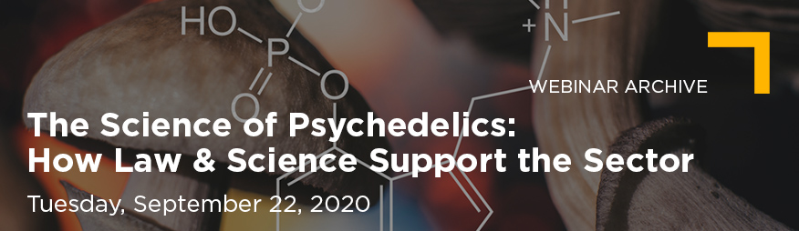 Sep22 The Science of Psychedelics Webinar Website Banner 876x254 Archive