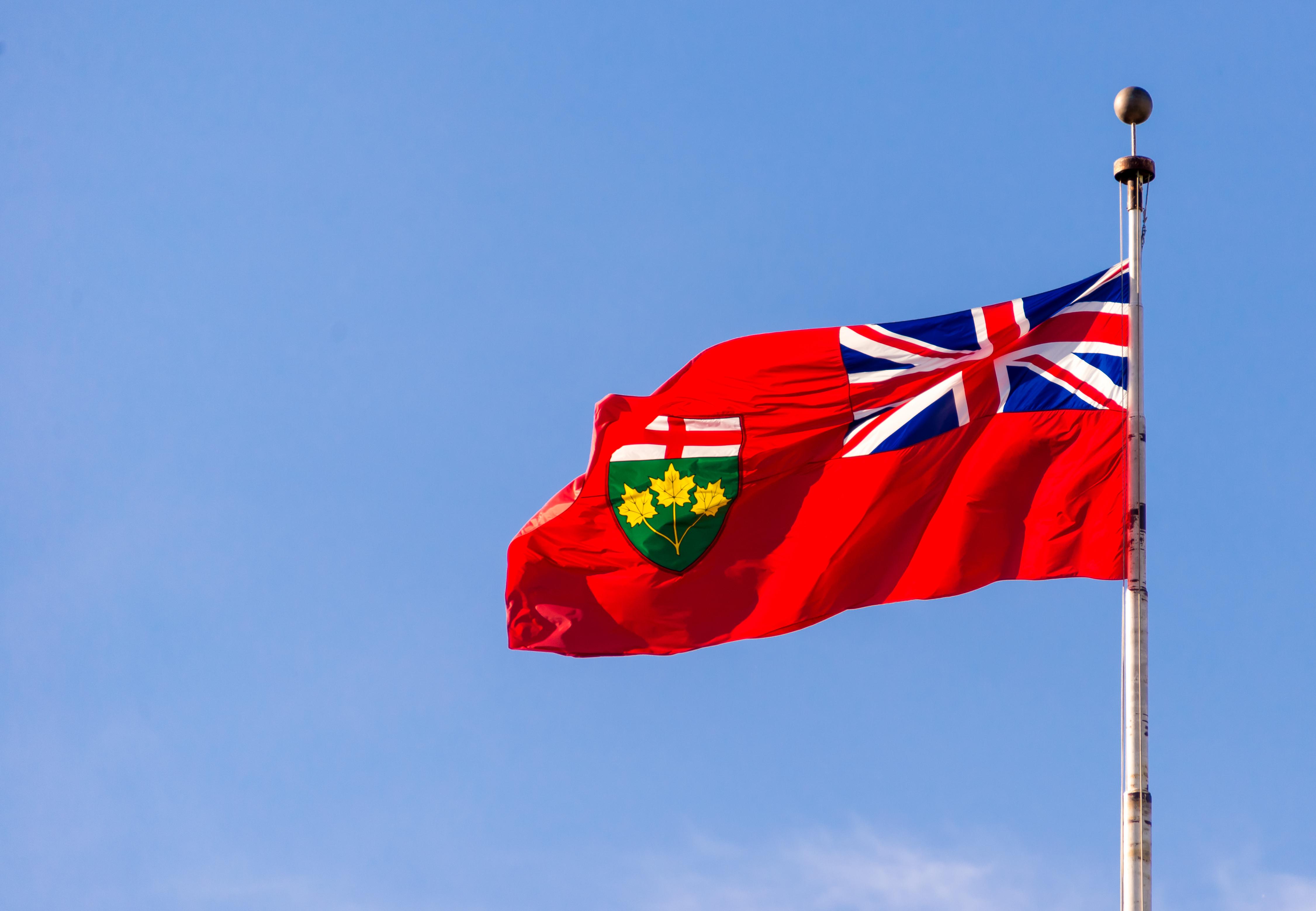 shutterstock_329902460_Ontario Flag