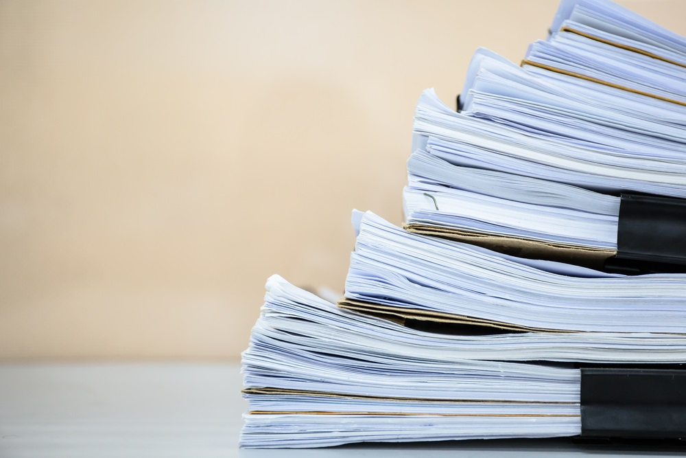 shutterstock_335609987 record keeping_ files_ papers