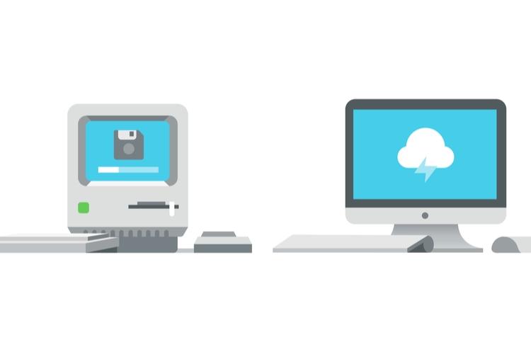 shutterstock_606791042_old vs new technology