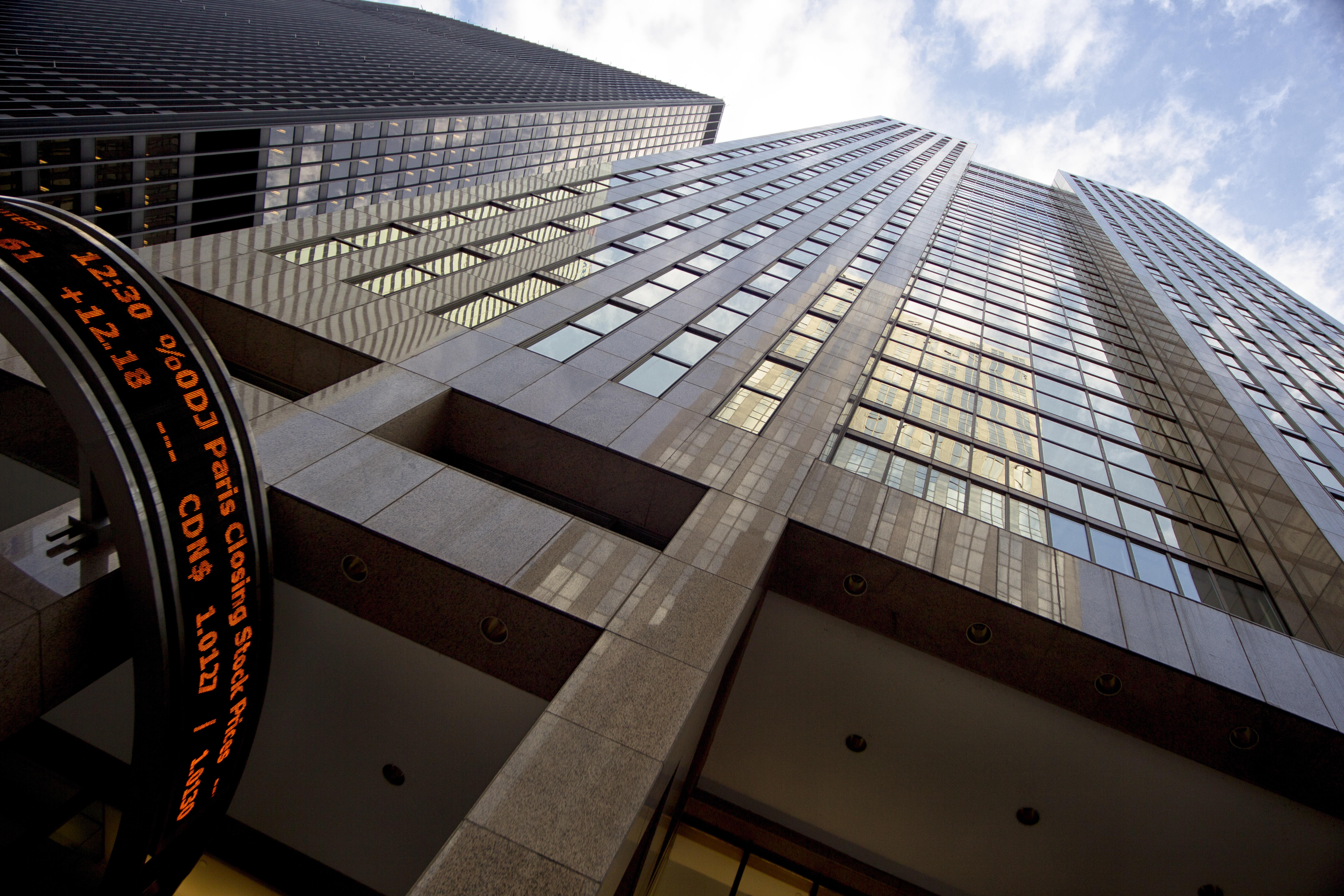 The Toronto Stock Exchange building
