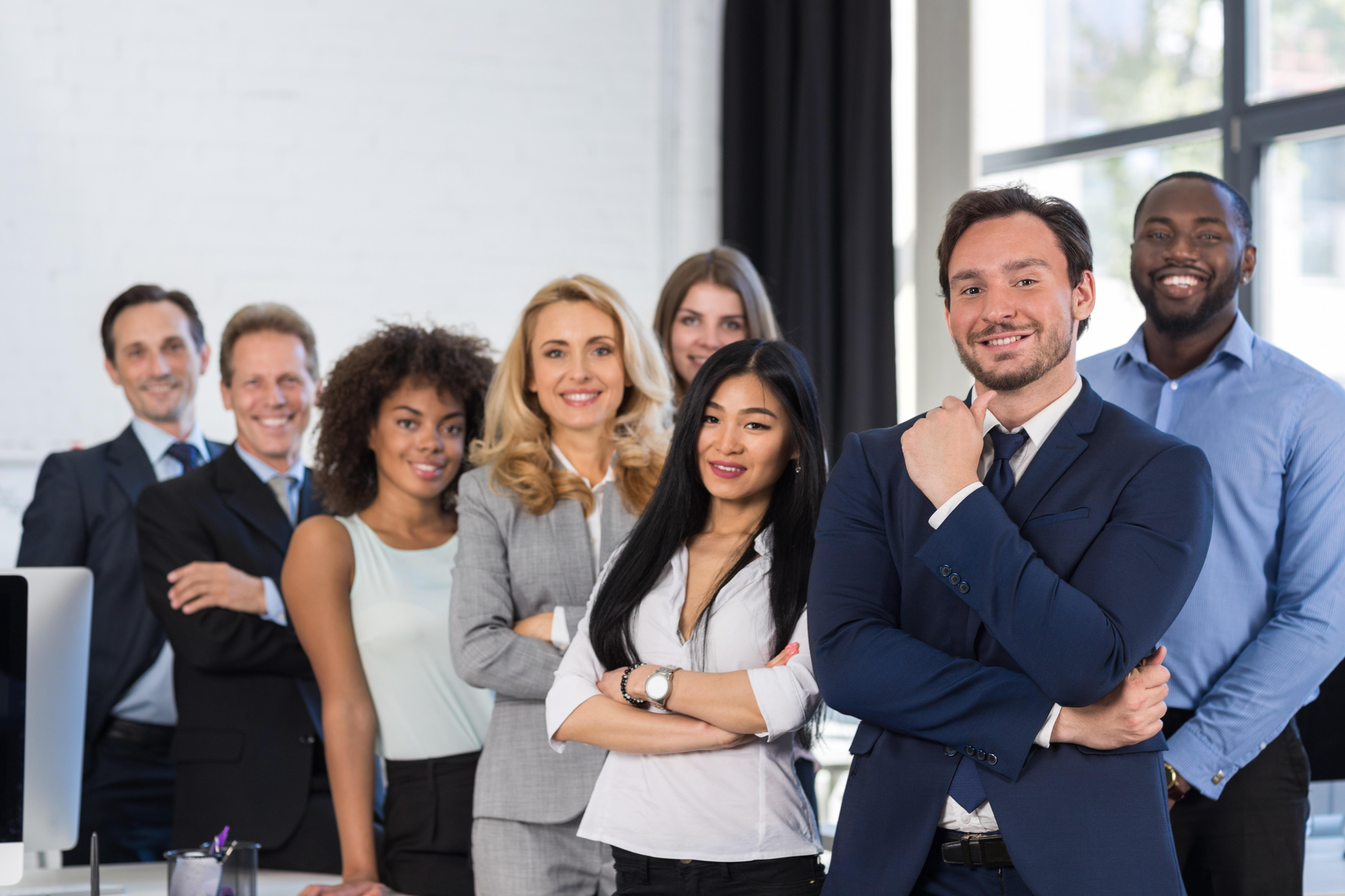 shutterstock_business professionals standing