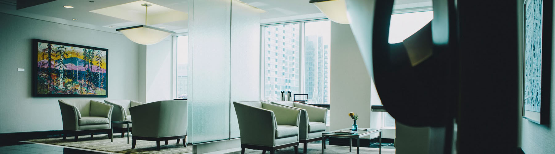 Law firm office lounge