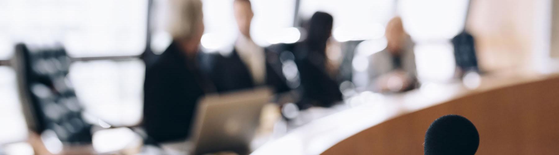 Meeting at boardroom
